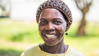 Sadia, a Women for Women International participant in South Sudan. Photo Credit: Charles Atiki Lomodong