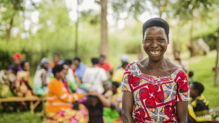 Hope Beyond the Headlines shines a light on different voices from our global Women for Women International family and focuses on hope and innovation in responding to the crisis. Photo: Serrah Galos