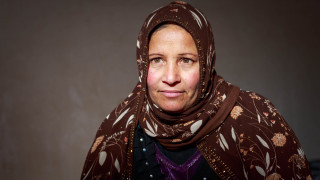 Najma, programme participant Women for Women International, Iraq. Photo: Emily Kinskey.