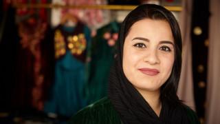 Programme participant in Iraq. Photo: Women for Women International
