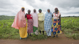 Women for Women International - Nigeria programme participants being trained as Change Agents to work towards peacekeeping in their communities. Photo: Monilekan