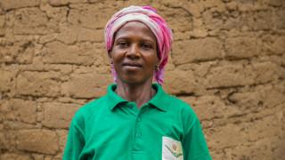 Veronica, a graduate of the Women for Women International programme in Nigeria.