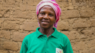 Monica, Women for Women International graduate in Nigeria. Photo: Monilekan
