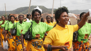 Women Marching Nigeria. Photo: Sunday Alamba.