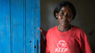 Grace, a Women for Women International programme graduate from Rwanda. Photo: Hazel Thompson
