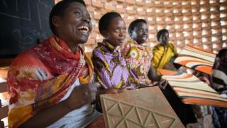 Programme participant in Rwanda