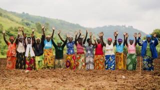 Women for Women International programme participants from Rwanda. Photo: Serrah Galos