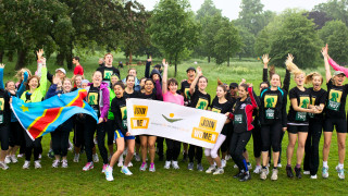 Run for the Congo Participants, 2012