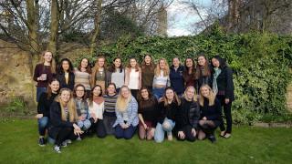 The Women for Women International Student Society at St Andrews.