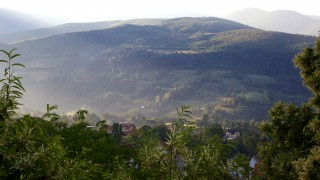 Village of Brod, Municipality of Shterpce, Kosovo. . The rolling mountains provide a peaceful backdrop to a country that is striving to rebuild after years of conflict. Photo: Hazel Thompson
