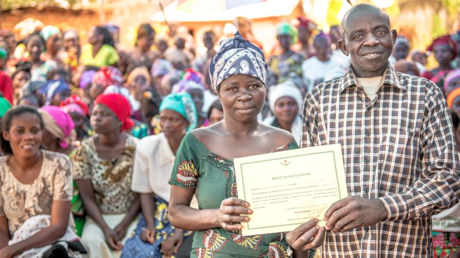 Graduation in Mumosho, DRC
