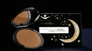 Bronzed Brilliance, Savannah Miller in collaboration with Bagsy Beauty