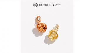 Kendra Scott have created the 'Women Empowerment' rose charm with 50% of proceeds being donated to our work with women survivors of war.
