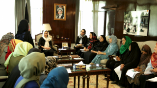 Graduates of our programme in Afghanistan were able to arrange a meeting with Afghanistan