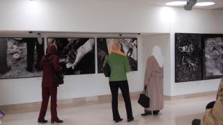 Fazila visits the Srebrenica-Potocari Memorial