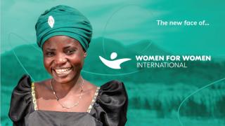 The new face of Women for Women International