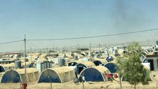View of Debaga Camp 1 for internally displaced persons (IDPs).
