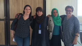 Katie Allen, Adiba, Warvin trainer, Mandana Hendessi