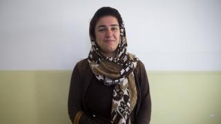 Kabira, a Women for Women International programme participant in the KRI. Photo: Alison Baskerville