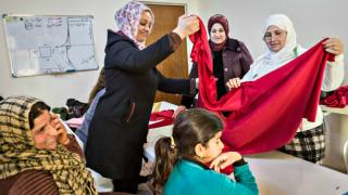 Sewing course, Sulaymaniyah Warvin Center.