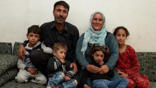 Shireen and her family. Photo: Aidan O