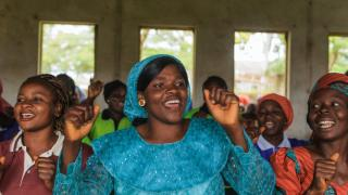 Women celebrating graduation-Nigeria-Sefa Nkansa