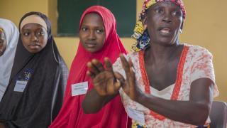 Women from both Fulani herder and Christian farmer communities - Nigeria 2019