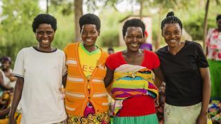 Stronger Women, Stronger Nations programme participants in Rwanda. Photo: Serrah Galos