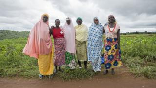 A group of women from Bachi State who have taken part in the