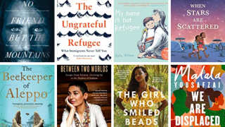 A selection of refugee books