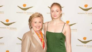 Sophie and Hillary