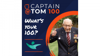Captain Sir Tom. Credit: The Captain Tom Foundation