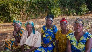 Women for Women International - DRC programme participants. Photo: Alison Wright
