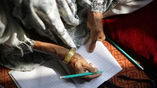 Women for Women International-Afghanistan programme participant writes in her handbook.