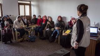 Social empowerment training in Erbil, Iraq. Photo: Emily Kinskey