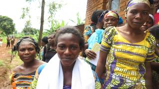 A marriage certificate might sound like just a piece of paper, but for marginalised women in eastern DRC, it's an important step towards greater security, self-reliance and securing rights. Photo: Women for Women International