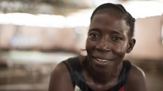 Pascalina, programme participant from Yei, South Sudan. Credit: Charles Atiki Lomodong