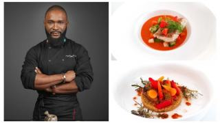 Mick Elysée is a passionate chef specialising in Congolese-French and African food. Photo Credit: Scott KBG