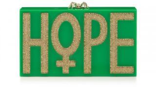 Charlotte Olympia HOPE Clutch Box