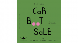 Virtual Car Boot Sale 7th November. Design: Studio Frith