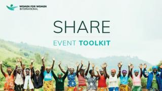 Download our Share Dinner Toolkit and host a dinner party to raise the £264 that will sponsor a sister on our year-long Stronger Women, Stronger Nations Programme.