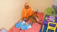 Magama was the first community where we worked to pilot a daycare centre to assist mothers in the programme. Photo: Women for Women International
