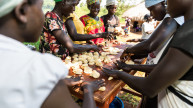 Women participating in their social empowerment training on bakery skills in South Sudan. Photo Credit: Charles Atiki Lomodong