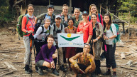 The WOAM team was fortunate enough to stay with the Sakkudei tribe at Siberut Island in Indonesia during their trek in 2019.