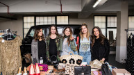 Supporter boot at the #SheInspiresMe Car Boot Sale 2017. Photo credit: Cristina Rossi Photography