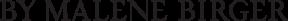 By Malene Birger Logo