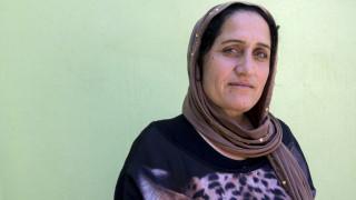Seve Ezdin Khalaf, a Yezidi woman from Sinjar