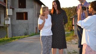 Brita and Amela. Photo: Women for Women International