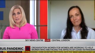 Brita Fernandez Schmidt on SKY News